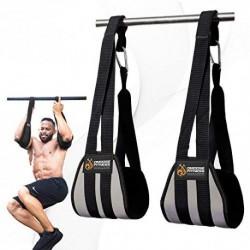 Dmoose Fitness Ab Straps - Sixpack Home Gym Exerciser - Aparato de entrenamiento de abdominales para hombre y mujer