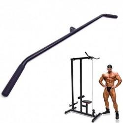 Inicio Gimnasio Ejercicio del tríceps Musculación Pro-Grip Curl Bares con antideslizante de goma Asas, tire hacia abajo LAT b
