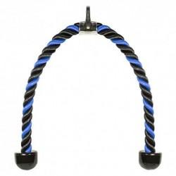 Elikliv Universal Tríceps Cuerda Tire hacia Abajo - 36inch Resistente de Nailon, Fácil Agarre & Antideslizante Cable Accesori