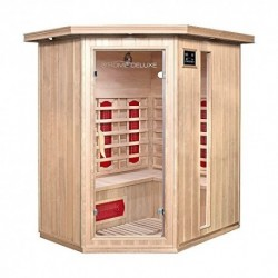 Home Deluxe Cabina de Sauna Infrarrojo Redsun XL