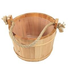 Croll & Denecke - Cubo para sauna madera, 28 cm de diámetro