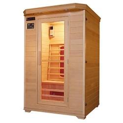 Cabina de infrarrojos/calor cabina/sauna–Esquina. Para 2Personas especial Acción