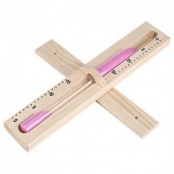 15 minutos Reloj de arena giratorio Temporizador de arena de madera con Arena rosa para Reloj de pared de vidrio reloj de are