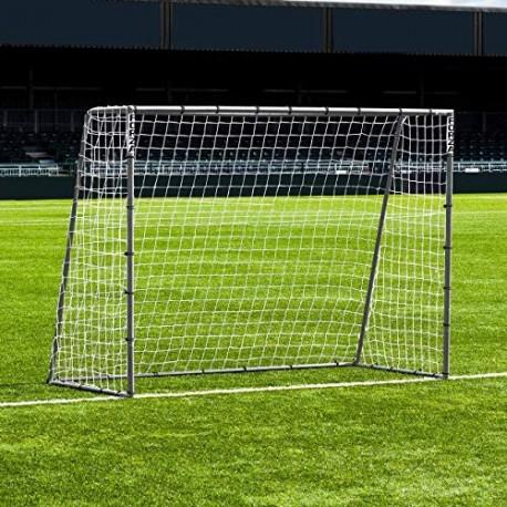 FORZA Steel42 Portería de Fútbol - Portería de Acero Galvanizado 2,4m x 1,8m