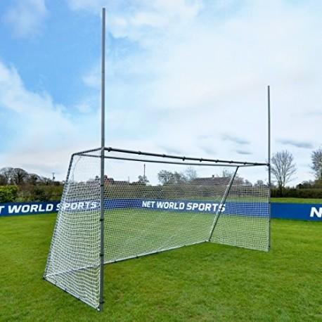 FORZA Steel42 Combi Postes de Rugby & Fútbol Variedad de Tamaños 4,5m x 2,1m