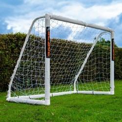 FOOTBALL FLICK - PORTERÍA DE FÚTBOL UPVC CON POSTES DE 70 MM DE GROSOR TRATADOS CON UV TAMAÑOS: 6 X 4, 8 X 4, 8 X 6, 12 X 6