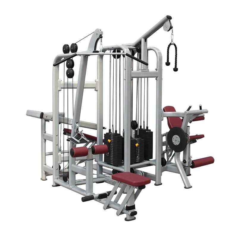 Ejemplo de multiestación de gym profesional