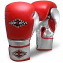 GUANTES ENTRENAMIENTO BOXEO FITNESS RB SILVER PUNCH