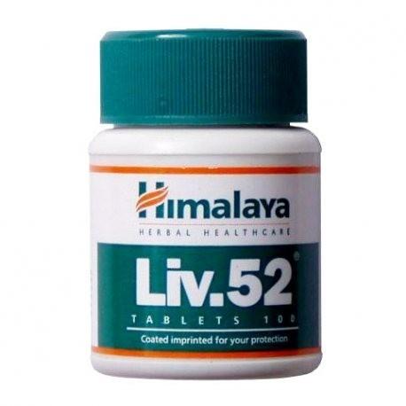 PROTECTOR HEPATICO HIMALAYA LIV52 100 TABLETAS