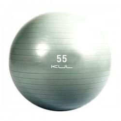 GYM BALL DE EJERCICIO GRIS - 55 CM - 65 CM ó 75 CM