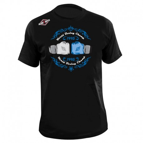CAMISETA BOXEO RB WORLD CHAMP