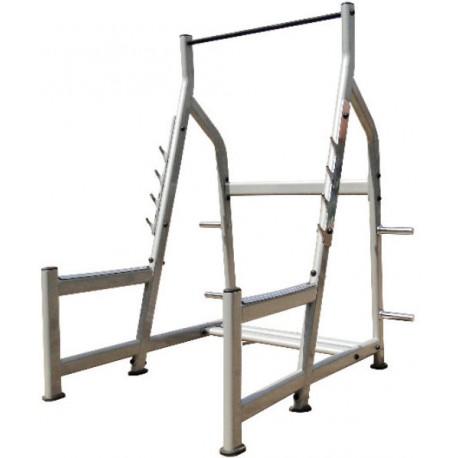 rack para hacer sentadillas