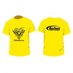 CAMISETA TECNICA PHOENIX COLOR AMARILLO