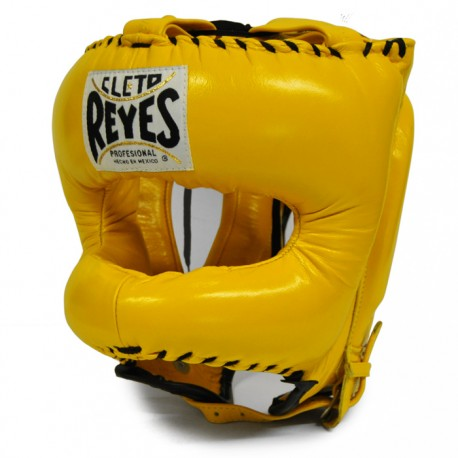 CASCO BOXEO CLETO REYES CON BARRA FRONTAL TRADITIONAL ED.COLORES
