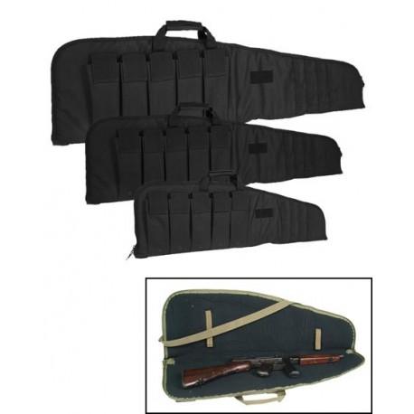 Funda de rifle 120 cm negro
