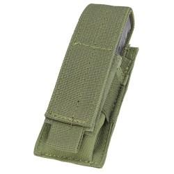 Portacargador Mil-Tec Pistole Single verde oliva