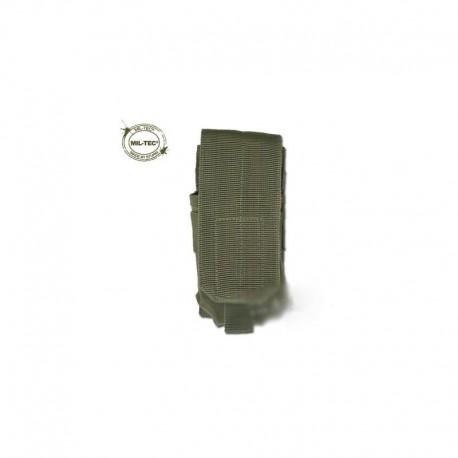 Portacargador Mil-Tec M4/M16 Single verde oliva