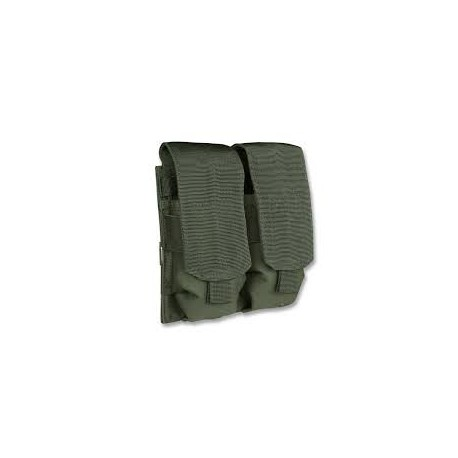 Portacargador Mil-Tec M4/M16 Double verde oliva