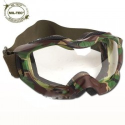 Gafas tácticas Mil-Tec Tactical Attack woodland