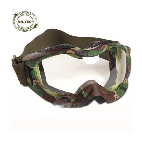 Gafas tácticas Mil-Tec Tactical Attack woodland