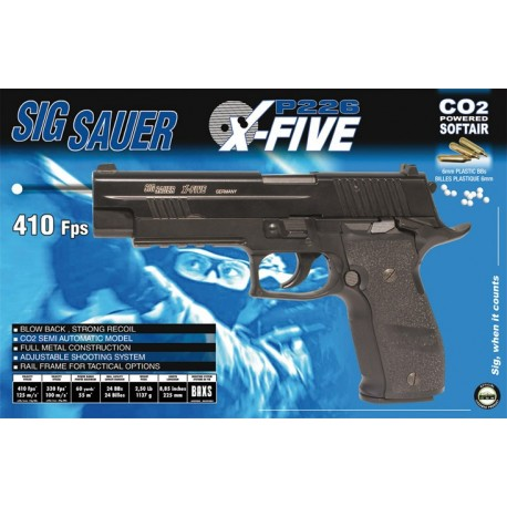 SIG X-five GBB CO2