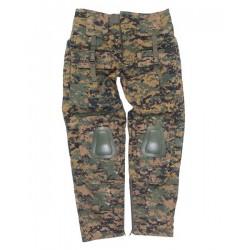 Pantalones reforzados camuflaje digital