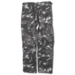 Pantalones US Ranger camuflaje BLACK DIGITAL