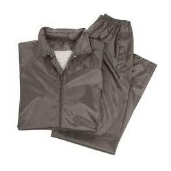Pantalón mas sudadera impermeable negro