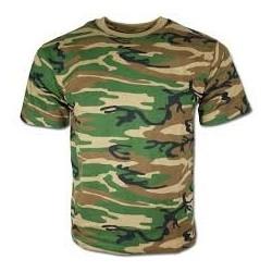 Camiseta camufaje