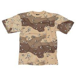 Camiseta camuflaje desierto