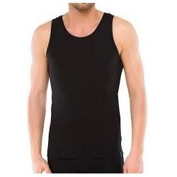 Camiseta sin mangas negra