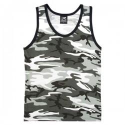 Camiseta sin mangas camuflaje urban