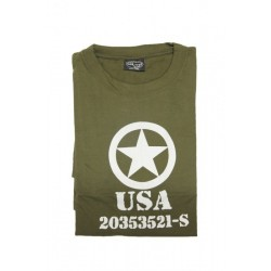 Camiseta ALLIED STAR verde oliva