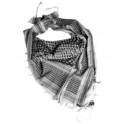 Pañuelo Shemag blanco/negro
