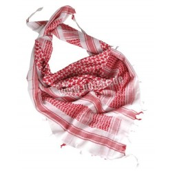 Pañuelo shemag rojo-blanco