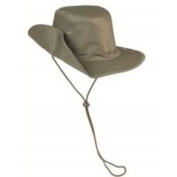 Sombrero de expedición verde oliva