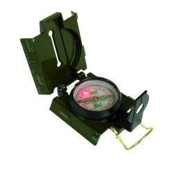 Ranger compass with LED light