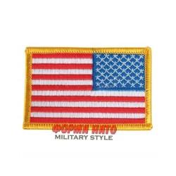 Parche a colores bandera US