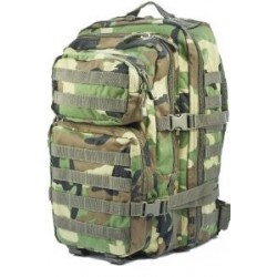 Mochila US Assault Pack woodland