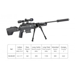 Sniper air rifle cal. 4,5
