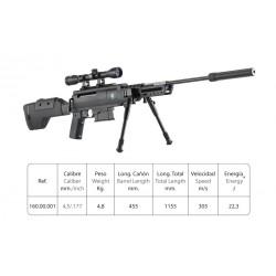 Sniper air rifle cal. 4,5