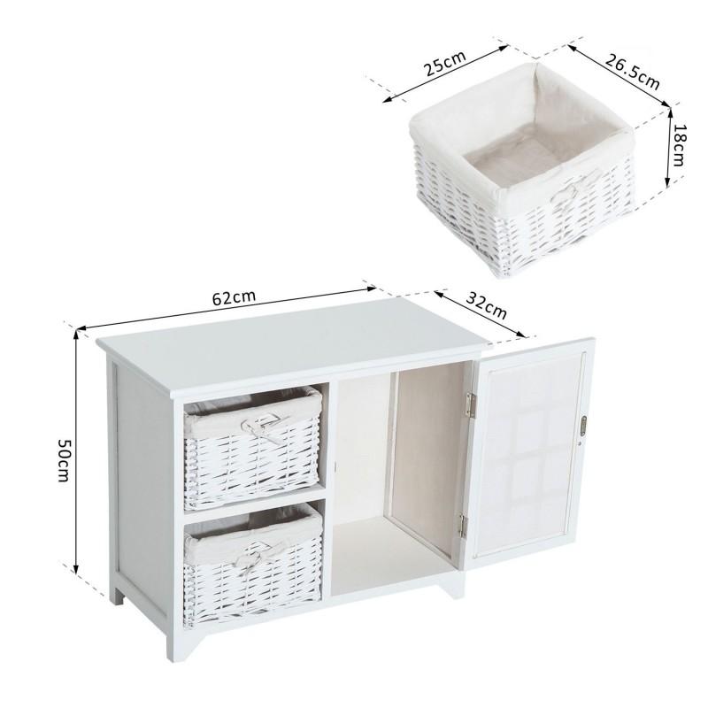 armario de almacenamiento para entrada ba o o habit