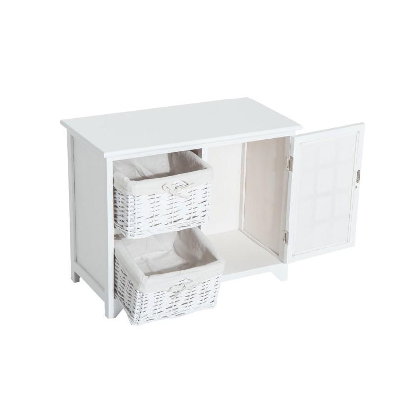 Armario de almacenamiento para entrada ba o o habit for Mueble organizador bano