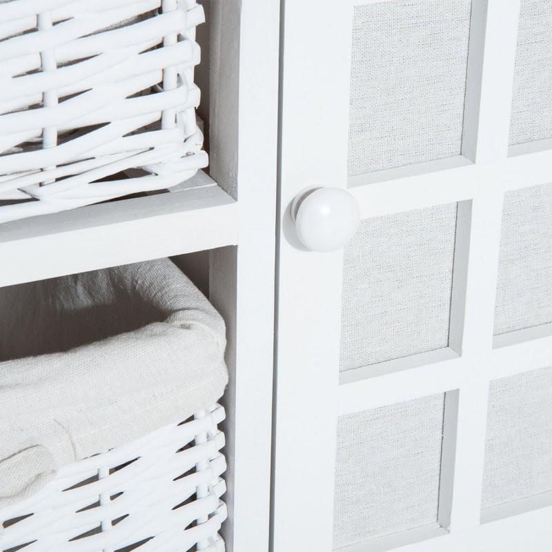 Armario de almacenamiento para entrada ba o o habit for Accesorios de almacenamiento de bano