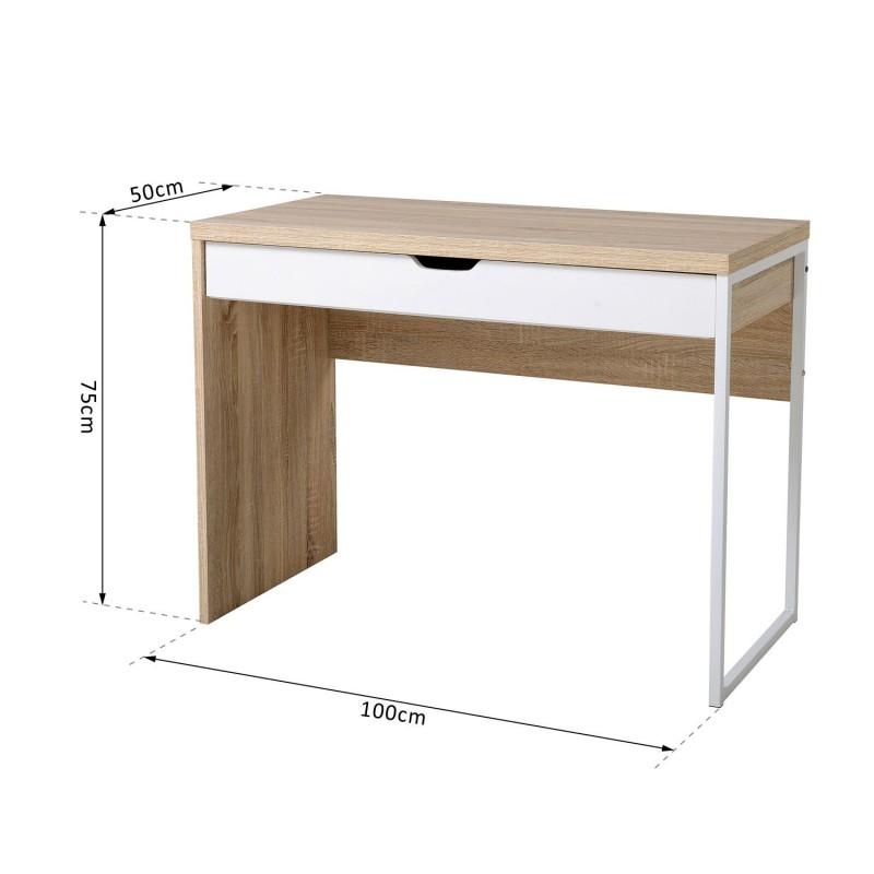 Mesa de ordenador tipo escritorio de pc para hogar - Mesas escritorio ordenador ...