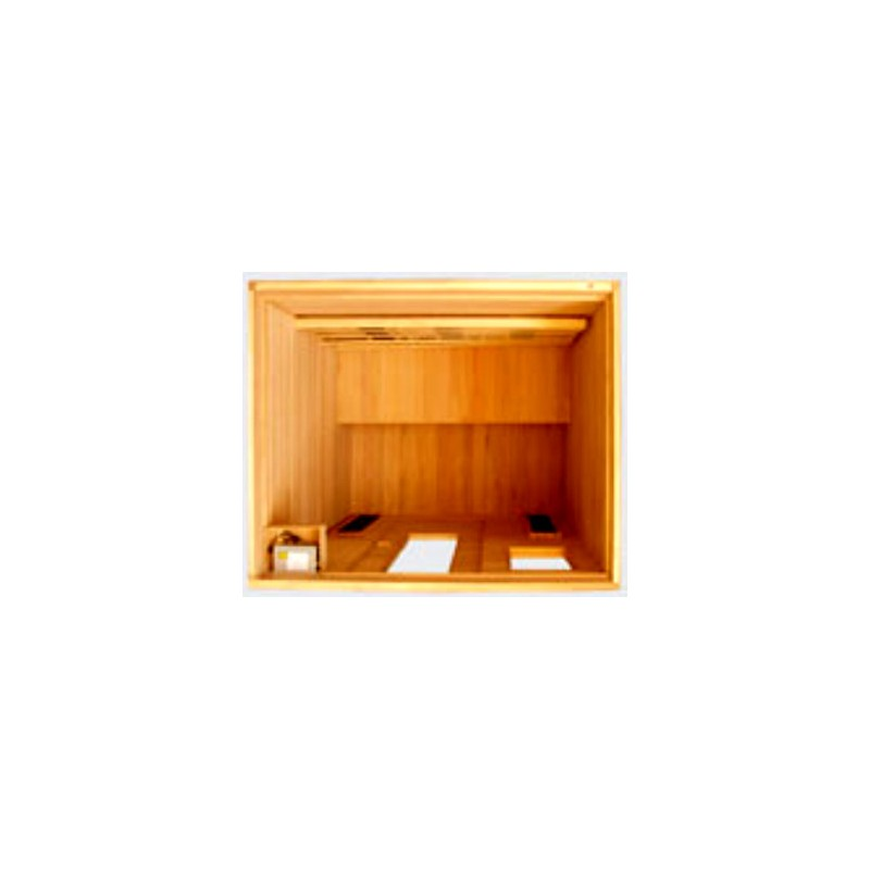 Sauna de madera 3 personas zhn 120 - Madera para sauna ...