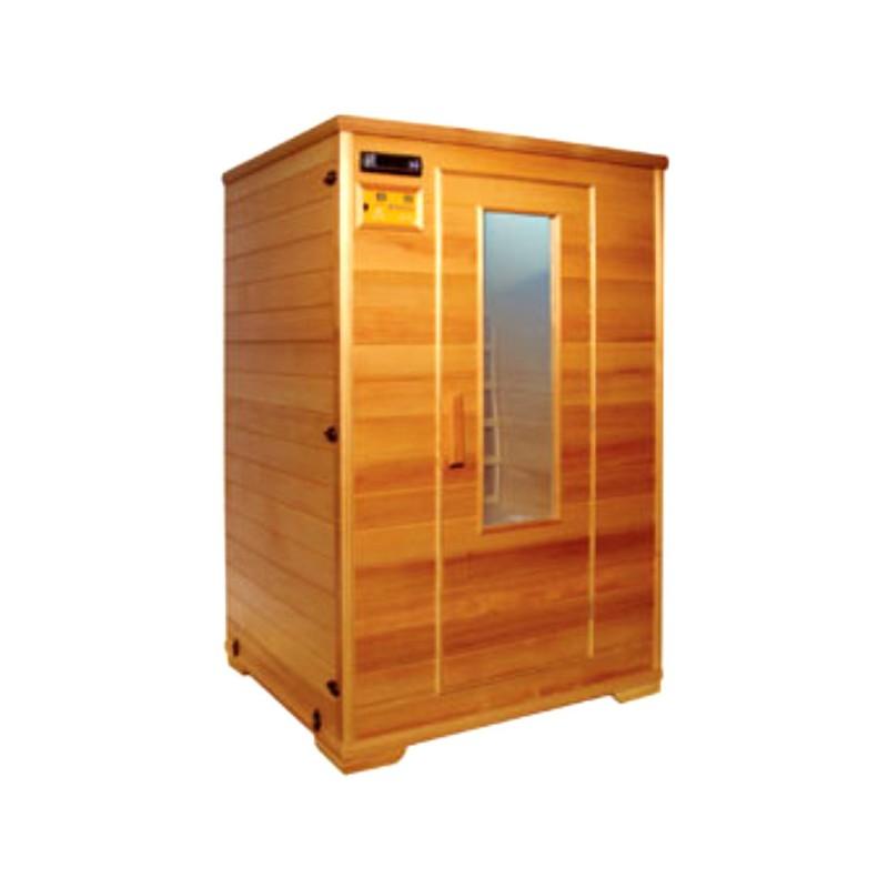 Sauna de madera 2 personas zhn t 90 - Madera para sauna ...