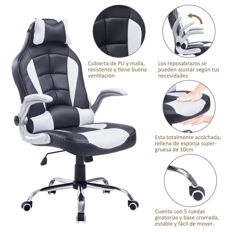 silla de oficina tipo sill n giratorio de escritori