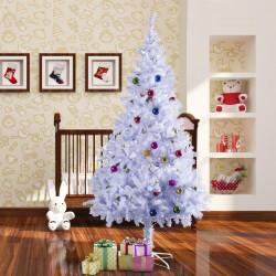 Arbol de Navidad Altura 210cm + Decoracion Incluida Arboles 1050 Ramas Blanco