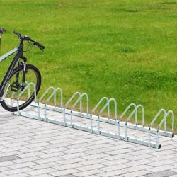 Aparcamiento para 6 Bicicletas tipo Soporte de Bici...